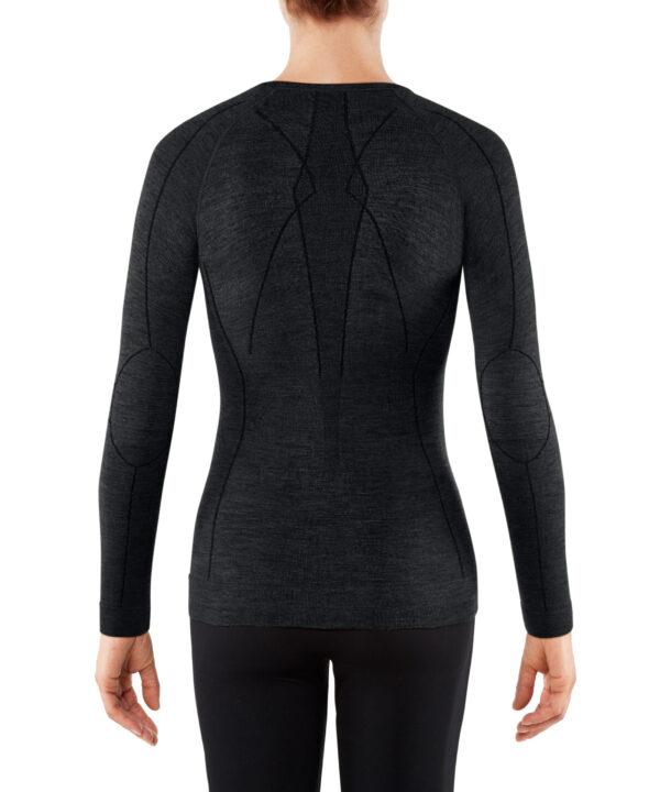 Falke ženska majica wt longsleeve black