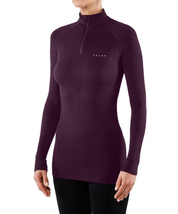 Falke ženska majica MW zip shirt