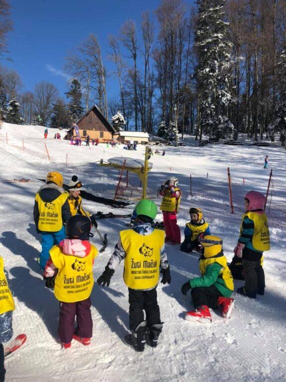 Škola skijanja Sljeme