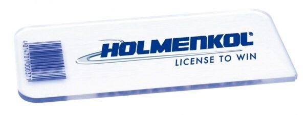 Holmenkol Scraper Plexi strugalica 130x60x3mm