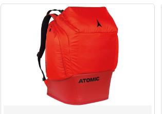 Atomic ruksak 90L Bright Red