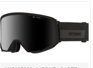 Atomic Goggles Four Q Stereo