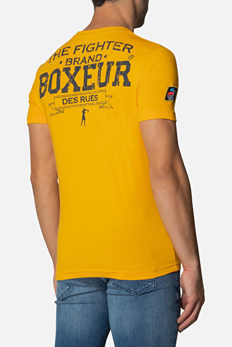 Boxeur majica kratki rukav yellow