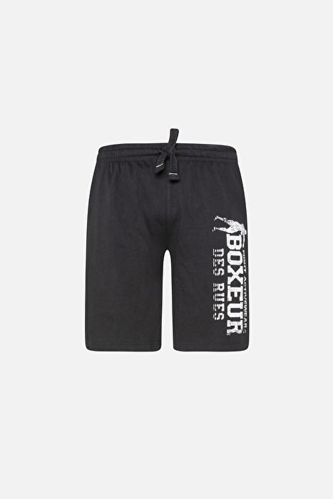 Boxeur kratke hlače black