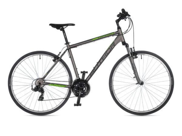 Bicikl Author Compact 20 silver mat