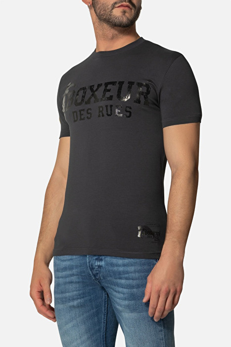 Boxeur majica kratki rukav anthracite