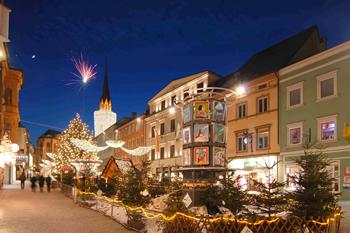 Advent u Villachu i Klagenfurtu